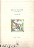 Okładka: Elsner Józef, Missa F - głosy