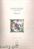 Okładka: Elsner Józef, Missa F - partytura