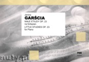 Ok�adka: Gar�cia Janina, Ma�e etiudy op. 23 na fortepian