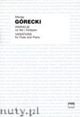 Ok�adka: G�recki Miko�aj, Wariacje na flet i fortepian