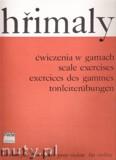 Ok�adka: Hrimaly Johann (Jan), �wiczenia w gamach (od I do VII poz.) na skrzypce