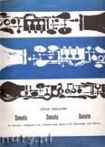 Ok�adka: Kisielewski Stefan, Sonata na klarnet i fortepian