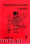 Ok�adka: Wi�niewski Marek, Najpi�kniejsze piosenki i melodie na keyboard z. 2
