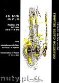 Ok�adka: Bach Johann Sebastian, Partita no. 2 BWV 1004 Sax Solo