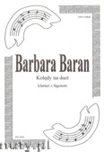 Okładka: Baran Barbara, Kolędy na duet Cl i Fg
