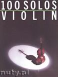 Ok�adka: , 100 Solos: Violin