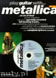 Ok�adka: Metallica, Play Guitar With... Metallica, vol. 2