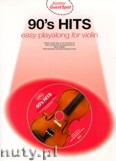 Okładka: Honey Paul, 90's Hits - Easy Playalong for Violin (+ CD)