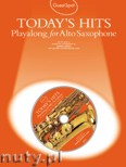 Okładka: Lesley Simon, Today's Hits Playalong For Alto Saxophone