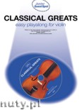 Ok�adka: Scott Daniel, Classical Greats for Violin (+ CD)
