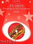 Okładka: Thomas Quentin, TV Hits Playalong For Alto Saxophone (+ CD)