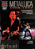 Ok�adka: Metallica, Legendary Guitar Licks: Metallica 1988-1997 (DVD)