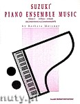 Ok�adka: Suzuki Shinichi, Suzuki Piano Ensemble Music, vol. 1. Second Piano Accompaniaments.