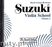 Okładka: Cerone David, Nadien David, Suzuki Violin School Volume 2 (CD)