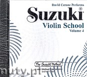 Ok�adka: Cerone David, Suzuki Violin School 4 (Cd)