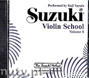 Okładka: Nadien David, Suzuki Violin School Volume 6 (CD)