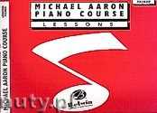 Okładka: Aaron Michael, Piano Course Lessons Primer