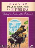 Ok�adka: Schaum John W., Piano Course C The Purple Book