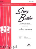 Okładka: Applebaum Samuel, The Belwin String Builder: Violin, Vol. 2