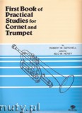 Ok�adka: Getchell Robert W., First Book of Practical Studies For Cornet And Trumpet