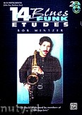 Ok�adka: Mintzer Bob, 14 Blues And Funk Etudes For Eb Instruments (Alto Sax, Baritone Sax)