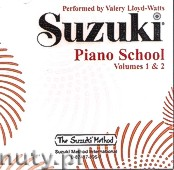 Okładka: Lloyd-Watts Valery, Suzuki Piano School Vol.1/Vol.2 (Valery Lloyd-Watts) CD