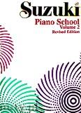 Okładka: Suzuki Shinichi, Suzuki Piano School, Volume 2