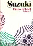 Okładka: Suzuki Shinichi, Suzuki Piano School, Volume 3
