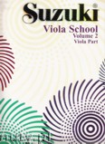 Okładka: Suzuki Shinichi, Suzuki Viola School, vol. 2 (Viola Part)