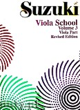 Okładka: Suzuki Shinichi, Suzuki Viola School Volume 3 - Viola Part (Revised Edition)