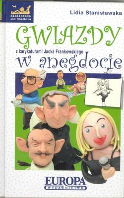 Okładka: Stanisławska Lidia, Gwiazdy w anegdocie