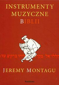 Okładka: Montagu Jeremy, Instrumenty muzyczne Biblii