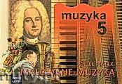 Okładka: Piątek Paweł, Malowane muzyką 5. Podręcznik