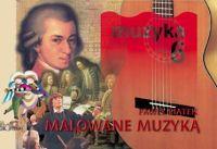 Okładka: Piątek Paweł, Malowane muzyką 6. Podręcznik