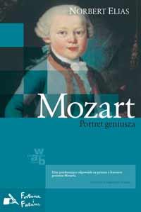Okładka: Elias Norbert, Mozart. Portret geniusza