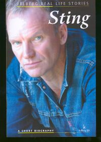 Okładka: Wolański Ryszard, Sting. A short biography