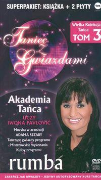 Okładka: , Taniec z gwiazdami. Rumba. T. 3 + 2CD