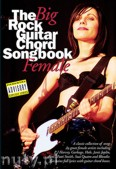 Okładka: Weston David, The Big Rock Guitar Chord Songbook: Female
