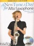 Okładka: Bennett Ned, A New Tune A Day: Alto Saxophone - Books 1 And 2