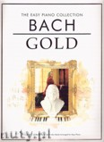 Okładka: Bach Johann Sebastian, The Easy Piano Collection: Bach Gold