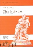 Okładka: Händel George Friedrich, This Is The Day - Vocal Score