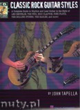Okładka: Tapella John, Classic Rock Guitar Styles