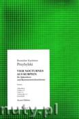 Okładka: Przybylski Bronisław Kazimierz, 4 nokturny kurpiowskie na akordeon i orkiestrę smyczkową