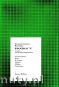 Okładka: Przybylski Bronisław Kazimierz, Program