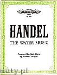 Ok�adka: H�ndel George Friedrich, The Water Music for Piano