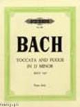 Okładka: Bach Johann Sebastian, Toccata and Fugue in D minor for Solo Piano, BWV 565