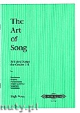 Okładka: , The Art of Song: Selected Songs set on thecurrent Associated Board exam syllabus Grades1-5 (High voice-Pf)