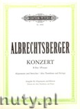 Ok�adka: Albrechtsberger Johann Georg, Concerto Bb major