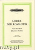 Okładka: Brahms Johannes, Schubert Franz, Selected Songs of Romanticism for Low Voice and Piano