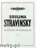 Okładka: Stravinsky Soulima, 20 Etudes Pittoresques for Piano